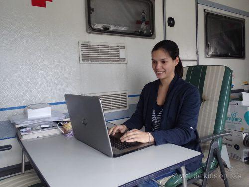 digital nomad werkplek