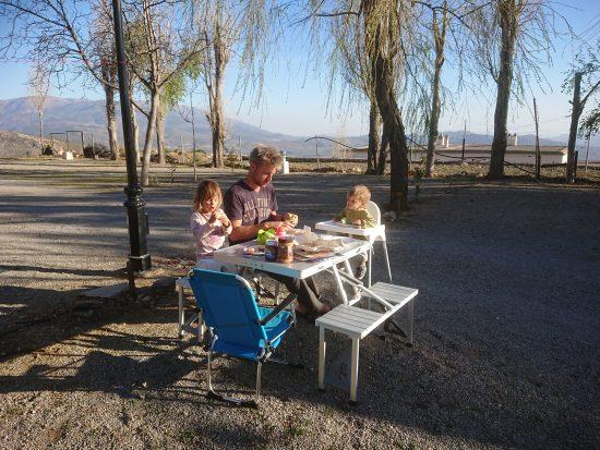 camping Laroles Sierra Nevada